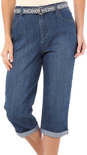 Gloria Vanderbilt Plus Size Amanda Capri at Amazon Women's ...