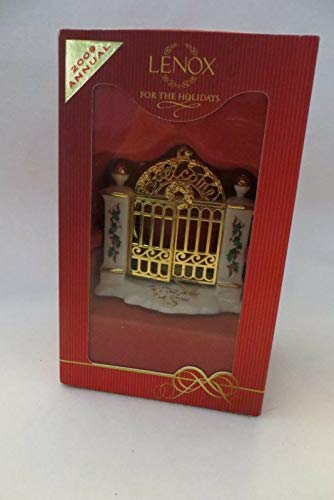 Lenox First Year in New Home Gate, Christmas Ornament