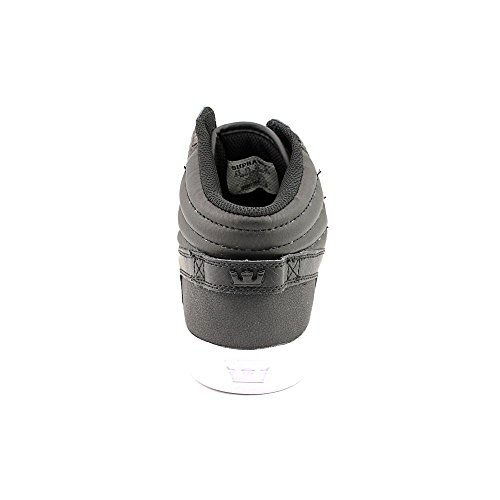 Supra Sphinx Hommes Noir Cuir Chaussures Baskets de sport EU 46