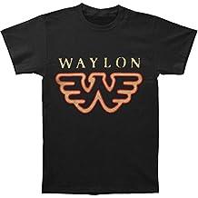 Waylon Jennings Flying W Adult T-Shirt-medium