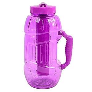 Cool Gear EZ Freeze 64 Ounce Chugger Water Bottle , Pink