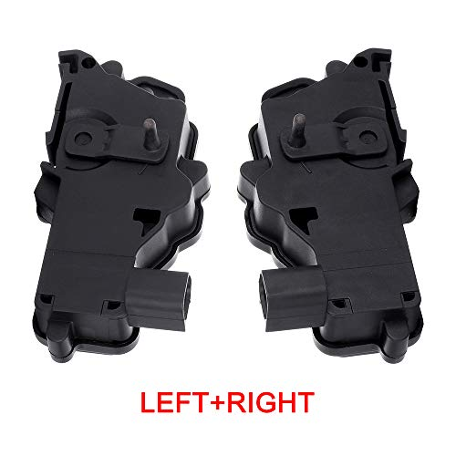 (Fits for 2002-2010 Ford Explorer 2004-2008 Ford F-150 2005-2010 Ford Mustang 2008-2009 Ford Taurus 2002-2010 Mercury Mountaineer Front Right/Left + Rear Right/Left Door Lock Latch and Actuator 746-162)