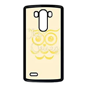 Chi Omega Owl LG G3 Cell Phone Case Black DIY Gift xxy002_5199024