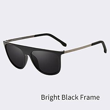 376e58947b TIANLIANG04 Los Hombres Gafas de Sol polarizadas Gafas de Sol clásicos  Lentes anteojos Moda Hombre UV400,C01: Amazon.es: Deportes y aire libre