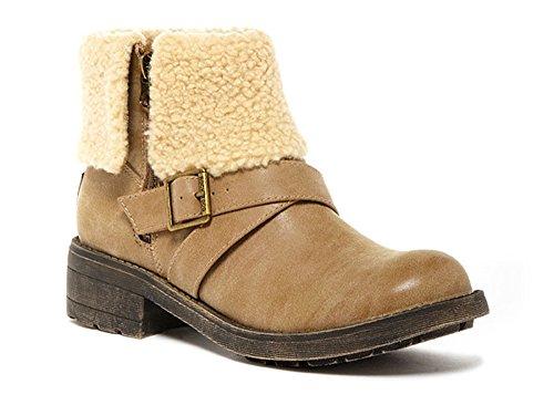 (Rocket Dog Tobie Heirloom Womens Ankle Boots Natural 6)