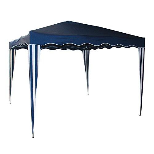 Alu Faltpavillon Blau