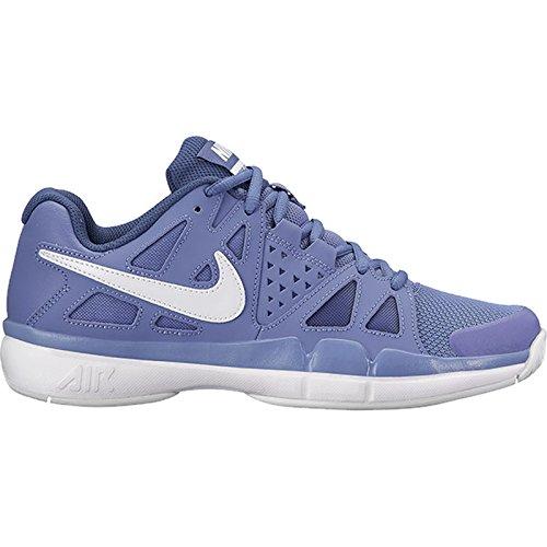 Nike Air Vapor Vorteil Tennis Schuhe Lila Schiefer / Weiß / Blau Recall