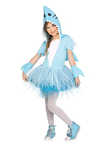 Fun World Shark Child Costume, Large, Multicolor]()