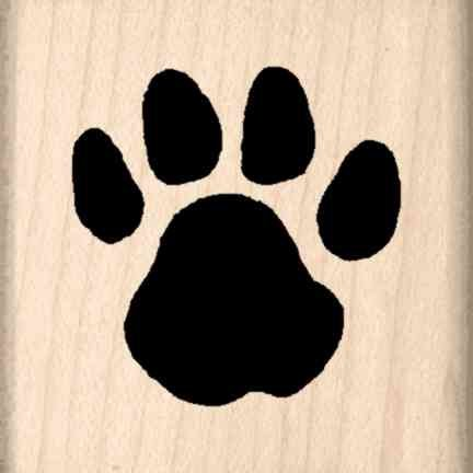 Stamps by Impression ST 0531 Paw Rubber Stamp -