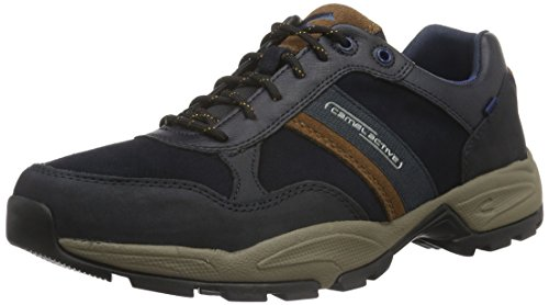 camel active Evolution 30, Zapatillas Hombre Azul (Midnight/timber 02)