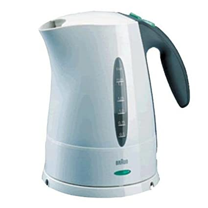 Braun WK200W Aqua Express Electric Water Kettle, White
