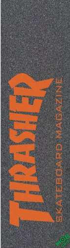 THRASHER MOB SKATE MAG ORG single sheet GRIP 9x33 by Thrasher Magazine