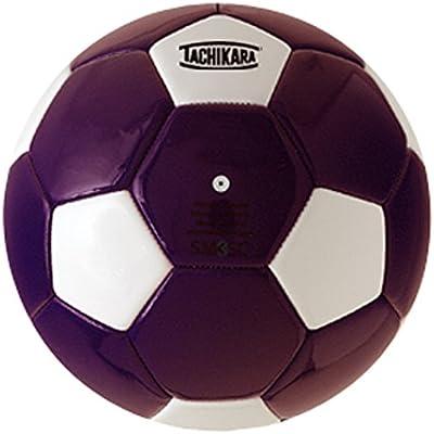 Tachikara Doble Color Suave PU balón de fútbol, Color Purple-White ...