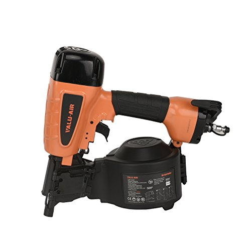 Valu-Air CN55R 15-Degree Coil Siding Fencing Nailer - 1-inch to 2-1/4-Inch
