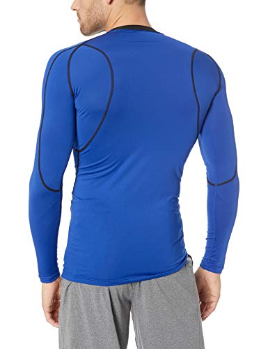 Tesla Men's Long Sleeve T-Shirt Baselayer Cool Dry Compression Top MUD11/ MUD01