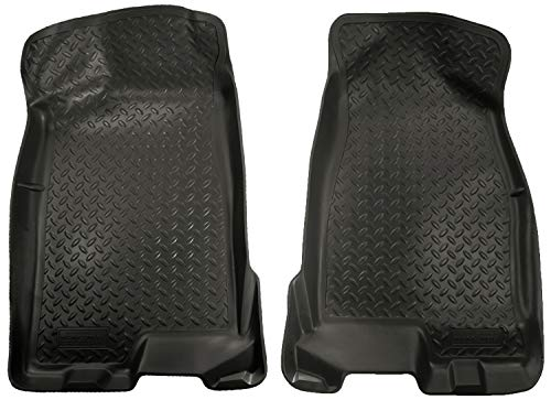 - Husky Liners Front Floor Liners Fits 04-12 Colorado/Canyon Crew Cab