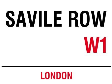 Saville Row: Metal Londres calle señal: pared placa: Hombre cobertizo: Casa Pub: Regalos: Amazon.es: Hogar