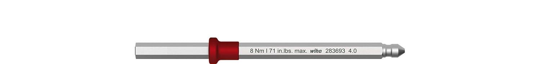 Wiha Wechselklinge Sechskant fü r Drehmoment-Schraubendreher mit Schlü sselgriff (38802) 2,0 mm x 75 mm, 1,8 Nm Wiha Werkzeuge GmbH
