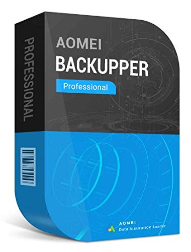 AOMEI Backupper Pro (1 PC) + Free Lifetime Upgrades – Digital Delivery