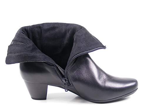 38 Souples Femme EU 5 Noir Damen Noir Bottes Stiefelette Gabor tw0ZqI