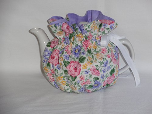 2 Cup Pretty Pink Floral Reversible Tea Pot Cozy