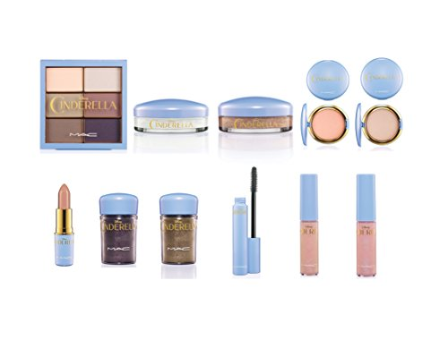 MAC Limited Edition Cinderella Collection 11 piece, used for sale  Delivered anywhere in USA