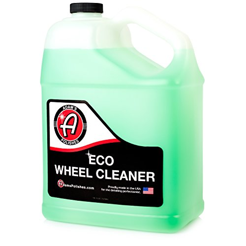 Adam's NEW Eco Wheel Cleaner Gallon - Safely Clean Any Wheel Finish - Tough on Dirt and Brake Dust But Gentle on Your Wheels and The Environment by Adam's Polishes
