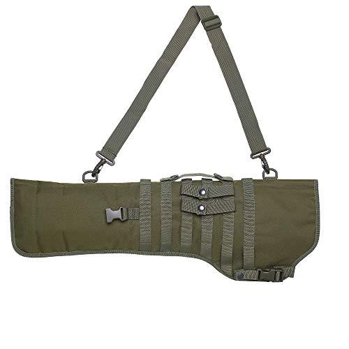 Waxaya Tactical Rifle Scabbard Shotgun Shoulder Bag (Army Green)