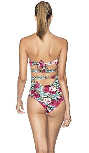 Agua Bendita Swimwear 2016 Bendito CARAVANA One Piece Swimsuit Beachwear