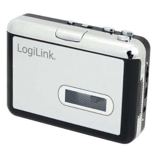 LogiLink UA0156 USB Kassetten Digital Konverter und Player (3,5mm klinkenstecker)