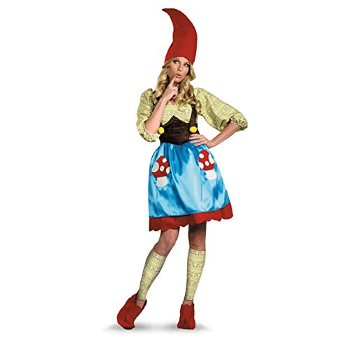 Disguise Ms. Gnome Adult Costume - Large