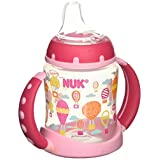 Nuk BPA Free Trendline Learner 5oz Cup Silicone Spout Whimsy 1 PK Colors Vary