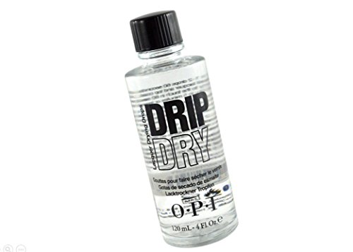 Drip Dry Lacquer Drying Drops WET TO SET 60 SECONDS - Size 4 Fl.oz / 120 ml