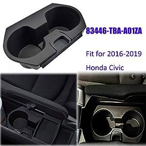 Cup Holder Drink Bottle Holder Adapter for Honda Civic 2016-2019, 83446-TBA-A01ZA