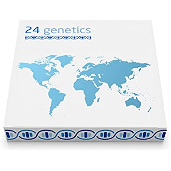 Amazon Com 24genetics Dna Ancestry Test Kit 400 Regions