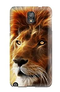 Best Anti-scratch Case Cover Protective Beautiful Lion Case For Galaxy Note 3 3776671K64615813