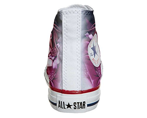 Converse All Star Customized - zapatos personalizados (Producto Artesano) Manga