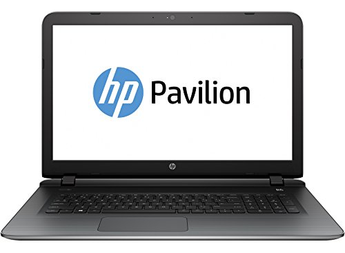 HP Pavilion N5P51UA 17-g153us Notebook PC - Intel Core i3-5020U 2.2 GHz Dual-Core Processor - 8 GB DDR3L SDRAM - 1 TB Hard Drive - 17.3-inch Display - Windows 10 Home 64-bit - Natural Silver