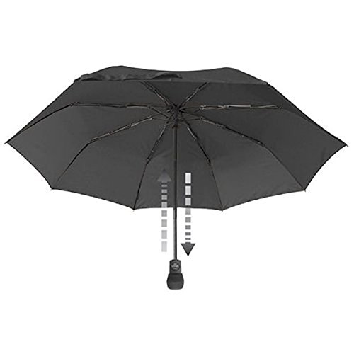 EuroSCHIRM Light Trek Automatic Umbrella (Black) by euroSCHIRM