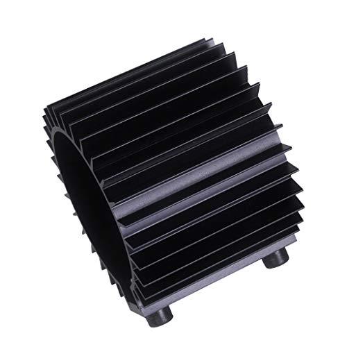 Flameer Universal 1 Pcs Black Engine Oil Filter Cooler Heat Sink Cover Cap Grade Aluminum Alloy Tool