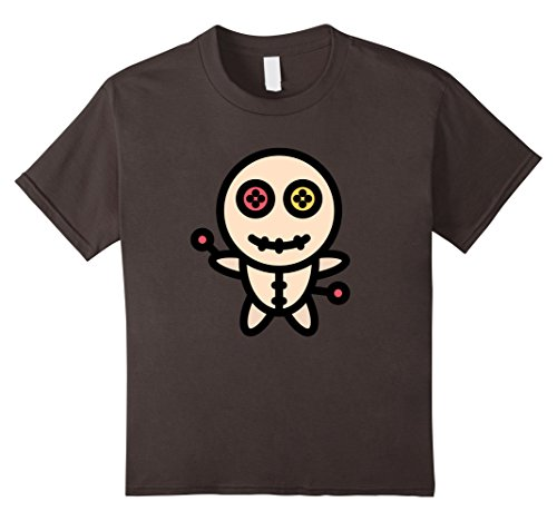 Scary Doll Halloween Costumes Ideas (Kids Halloween Voodoo Doll Scary Costume T-Shirt 8 Asphalt)