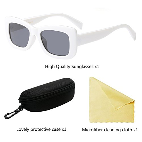 l'été Star Retro Goggles Eyeglasses Lunettes White UV400 Femmes Soleil Zhuhaitf de pour Style wPxdS0P5q