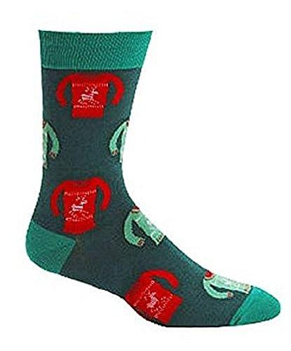 Sock It To Me Men's Holiday Sweater Crew Socks