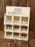 """Create a Keepsake Magnetic Initial Letter """"V"""" By"""