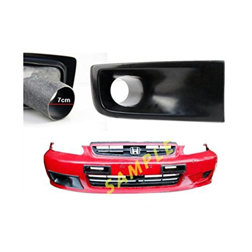 (Fit For Civic EK9 JS Front Bumper Right Side Air Vent Intake Duct Scoop 1999-2000)