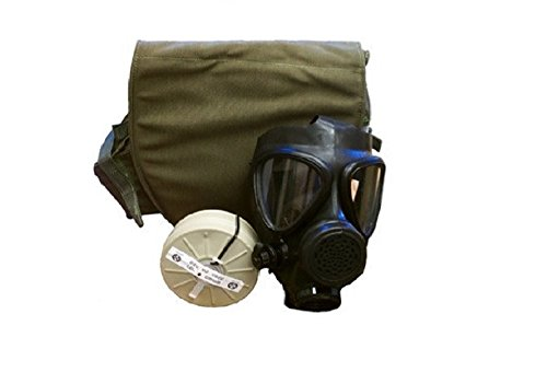 Israeli Men Costume (Israeli M-15 Gas Mask W/Filter and Drop Leg)