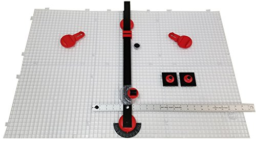 Creator's Ultra Beetle Bits Glass Cutting System - COMPLETE WITH 6-Pack Waffle Grids and Push Button Flying Beetle Glass Cutter INCLUDED - Made In The USA