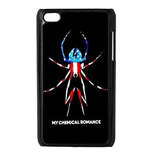 Danny Store Protective Hard PC Cover Case for iPod Touch 4, 4G (4th Generation), My Chemical Romance