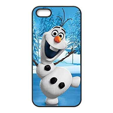 Frozen Happy Snow Doll Cell Phone Case 677 For Iphone 4 4s