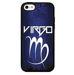 Blue, Black, White Virgo Horoscope Hard Snap on Phone Case (iPhone 5c)
